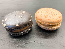 Macaron Foie Gras Figue - Abricot
