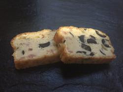 Mini Cake Lardons Olives