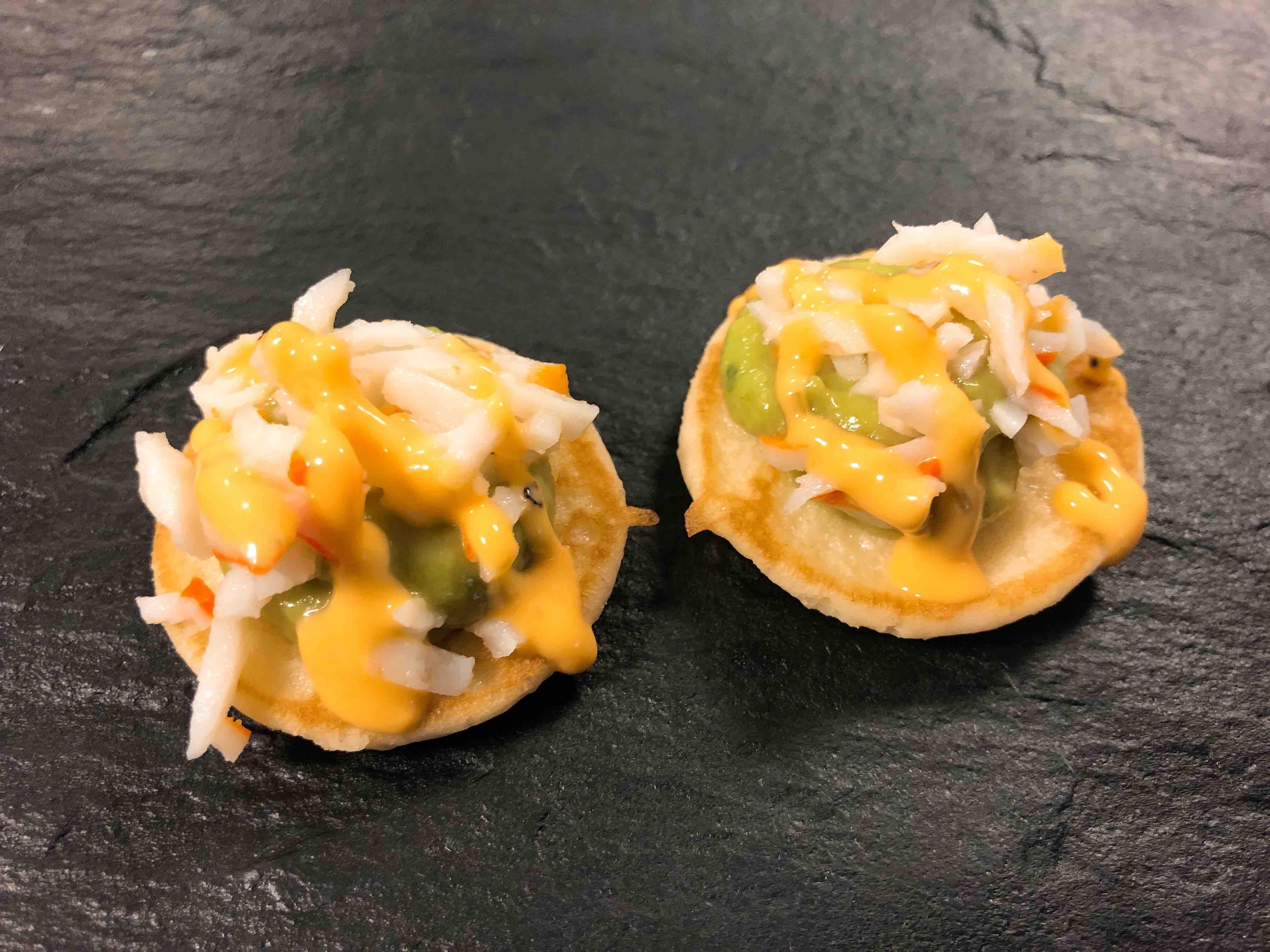 Blinis Crabe