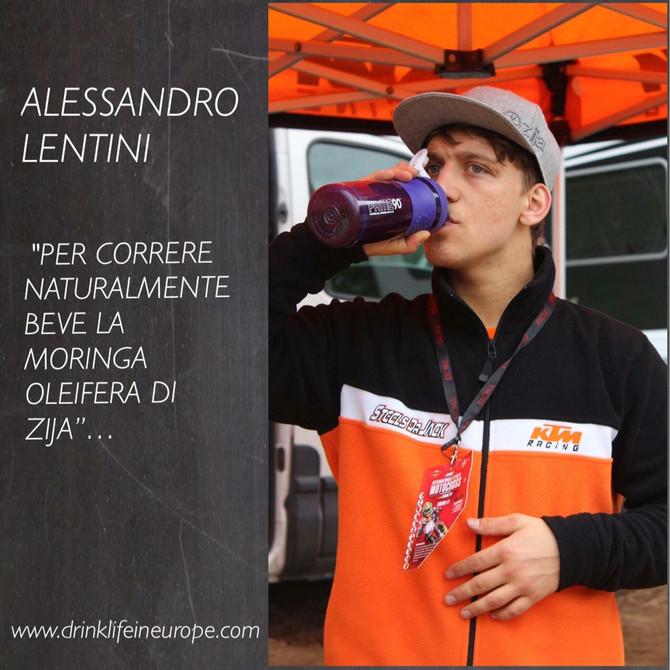 PER UN CAMPIONE VOLER VINCERE E' NATURALE. ALESSANDRO LENTINI HA SCELTO DI VINCERE NATURALMENTE