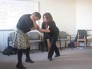 Cheryldee Huddleston works with writer Valerie Fachman