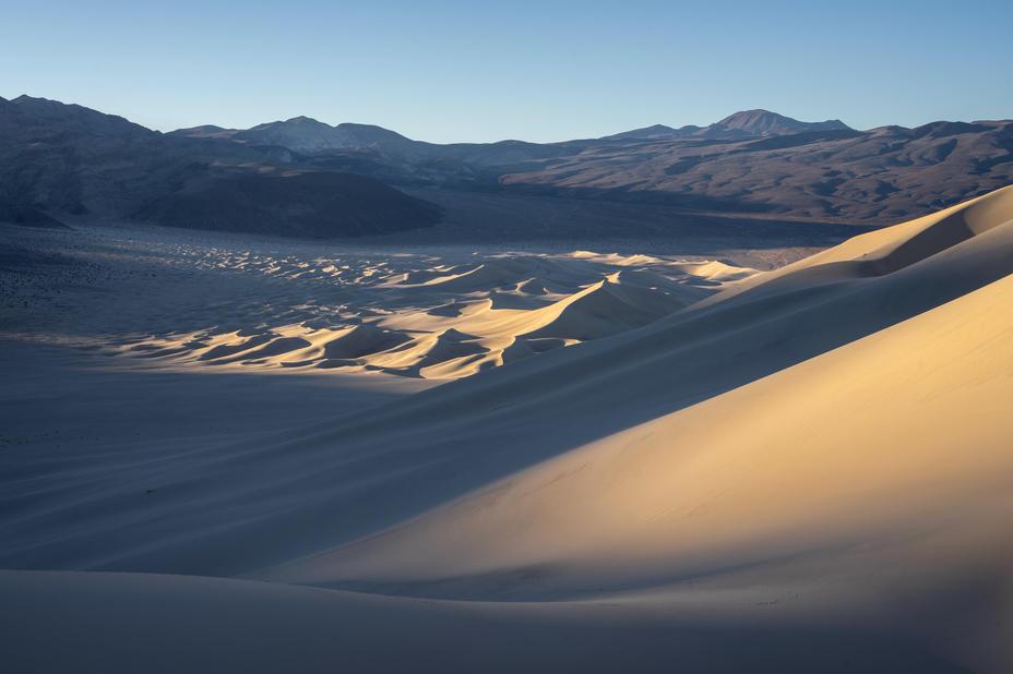 Sunrise at Eureka Dunes