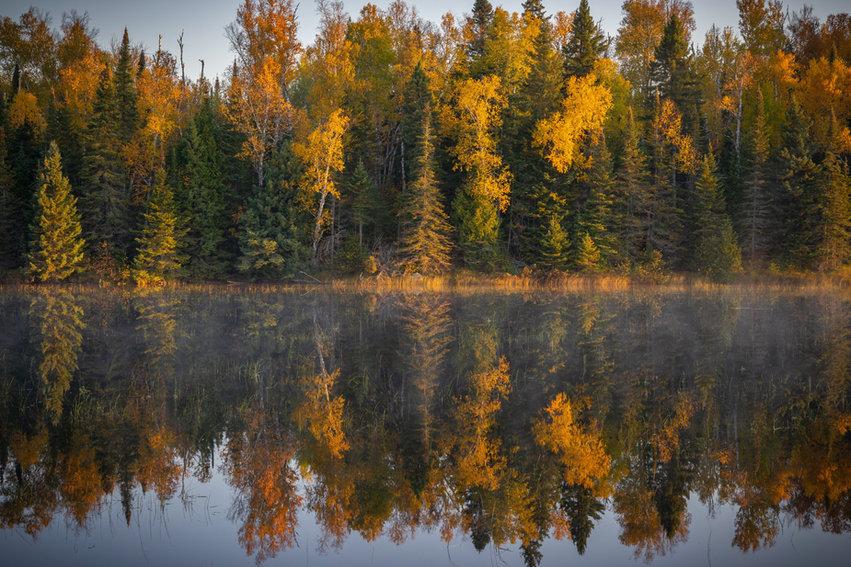 Fall Reflections on Sonju Lake