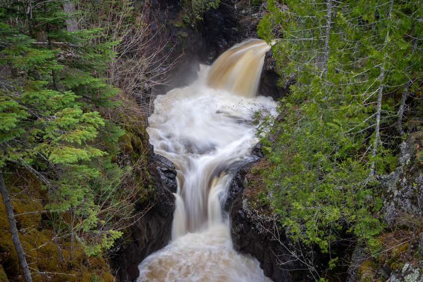 Long Exposure of the Cascade RIver Falls