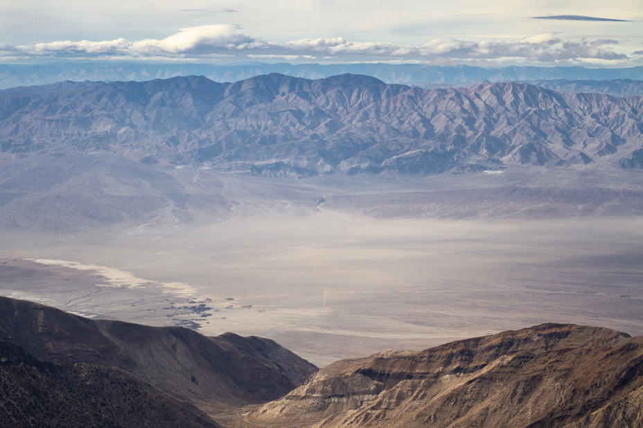 The Flats of Panamint Valley From Telesc