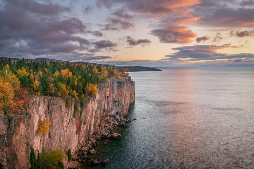 Sunset From Palisade Head