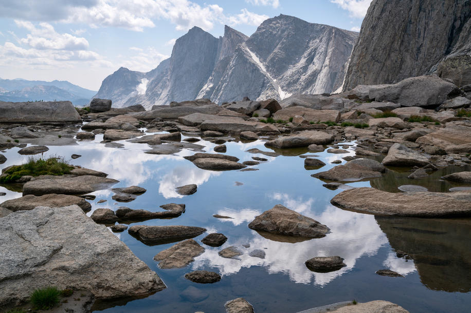 Glacial Pools on Raid Peak Pass