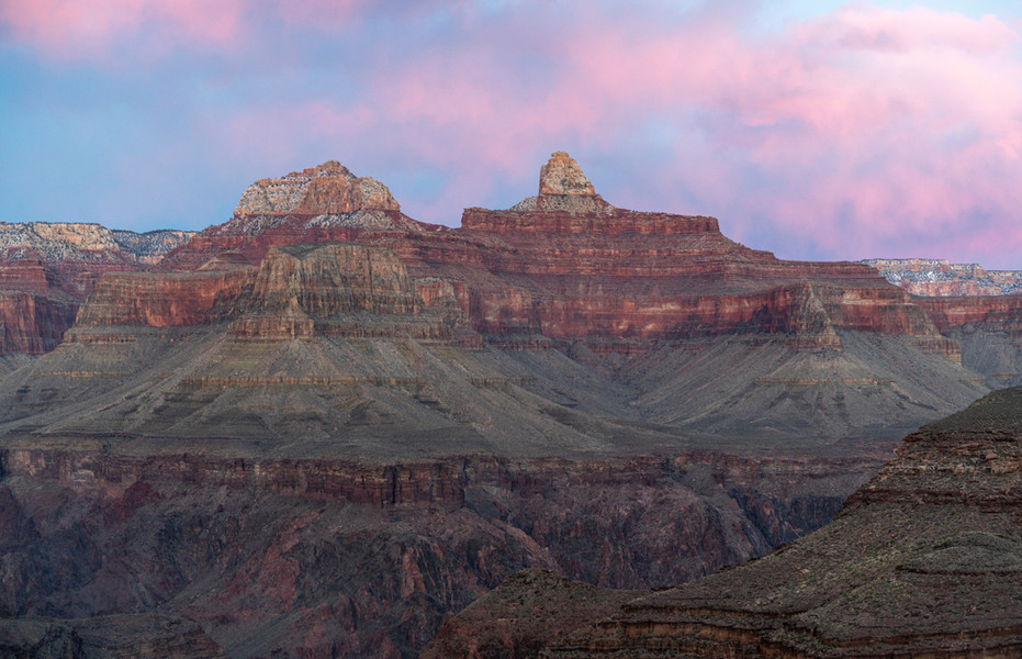 Sunset From the Inner Canyon