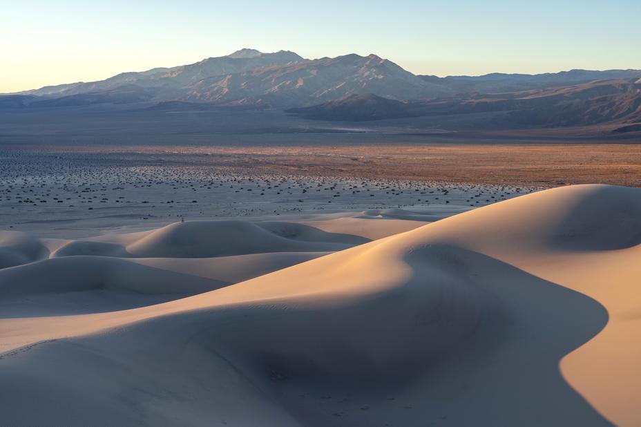 Sunrise at Panamint Dunes