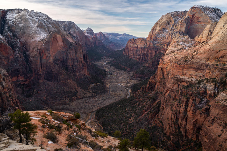 Looking West From Angel's Landing