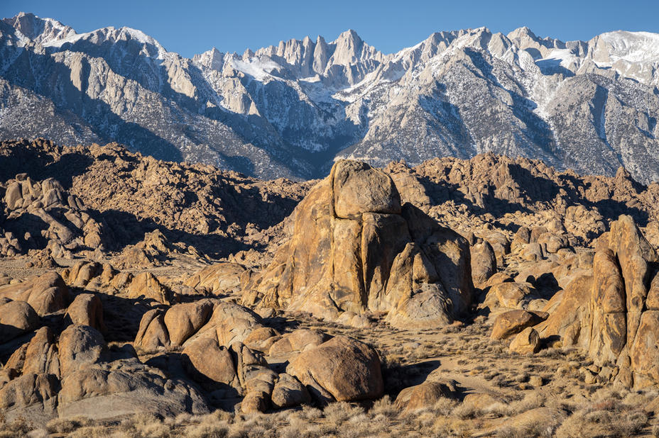Alabama Hills and the Eastern Sierra Fro