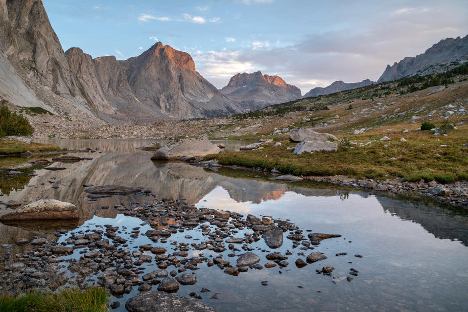 Morning Reflections in Desolation Valley