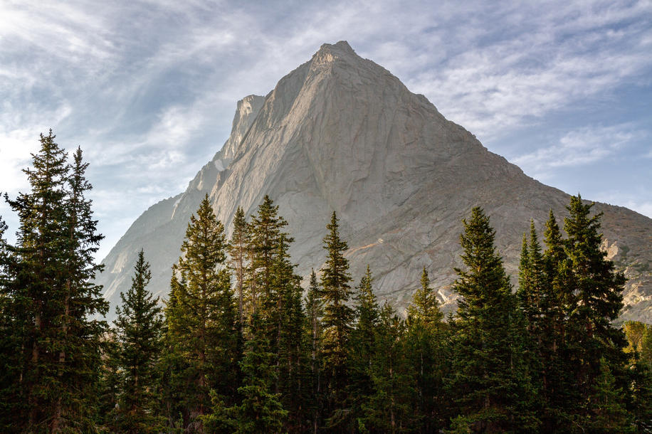 Morning Light on Mitchell Peak