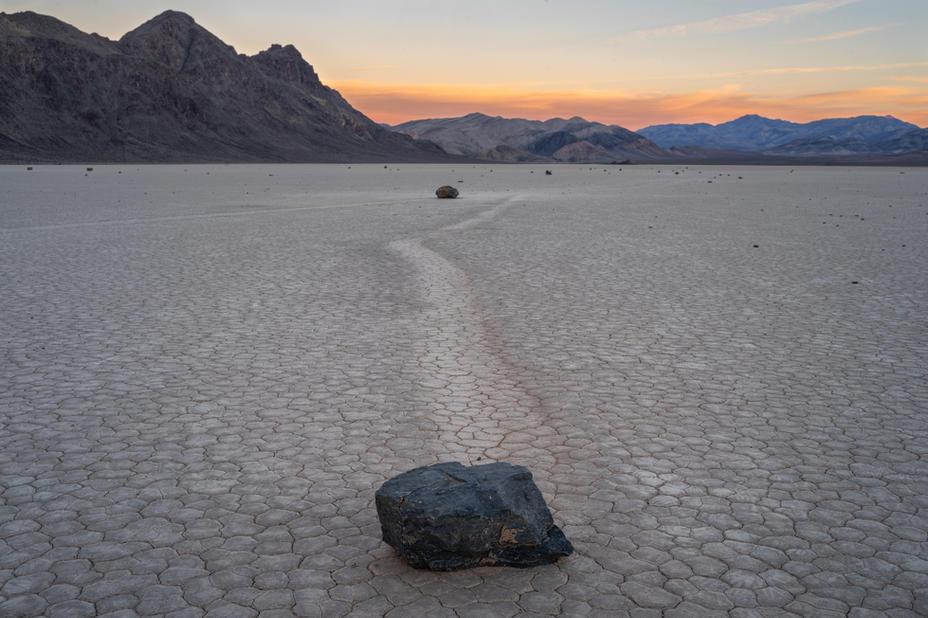 The Sailing Stones at Dawn