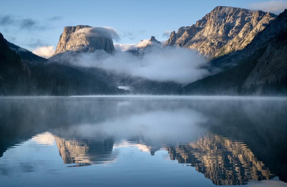 Morning on Upper Green River Lake