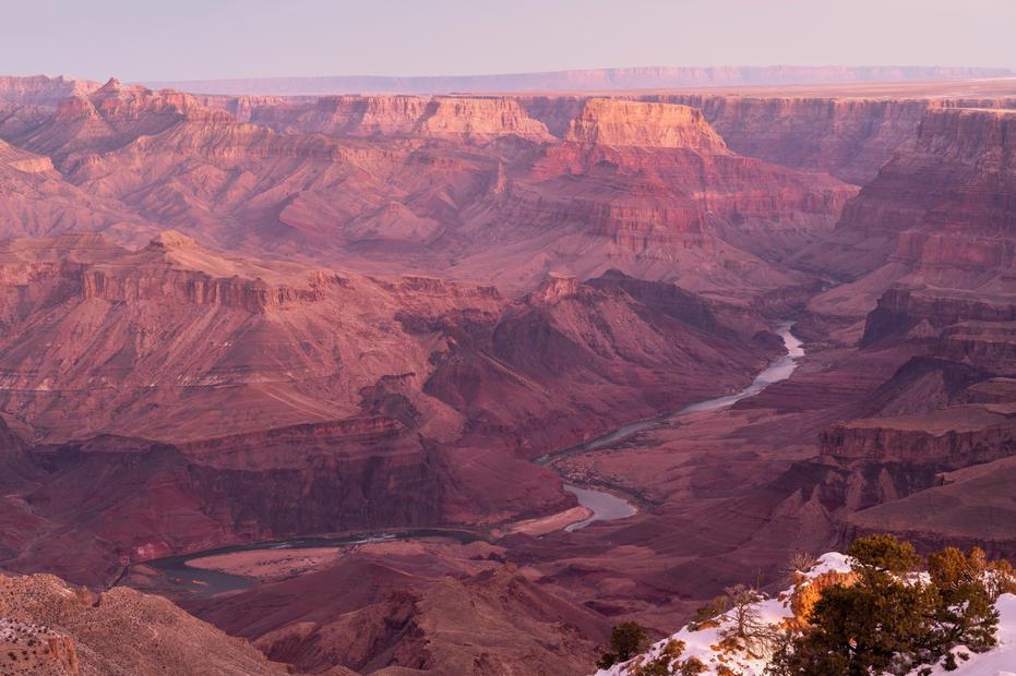 Dawn at Desert View