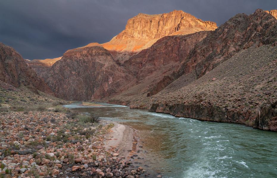 Gloomy Morning on the Colorado