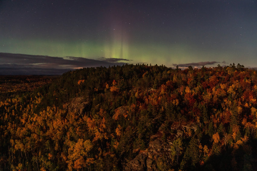 Northern Lights From Section 13