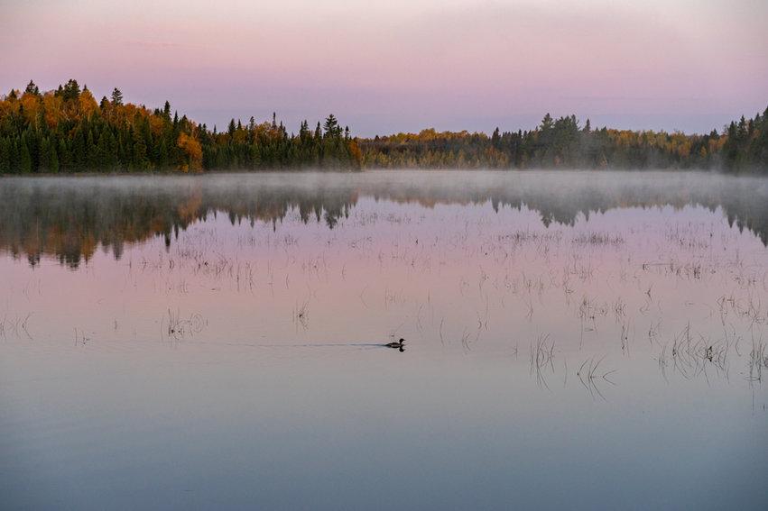 Dawn on Lake Sonju