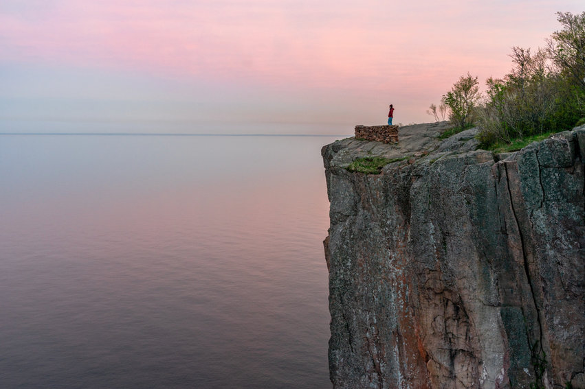 Sunset Over the Palisade Head