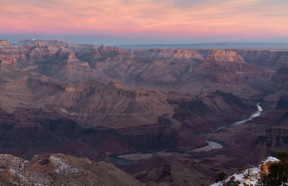 Sunrise from Desert View