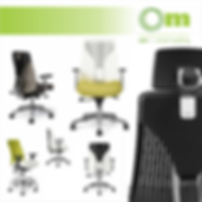 OM Seating is Office Master seating that is ergonomic task chairs and confernce and guest seating