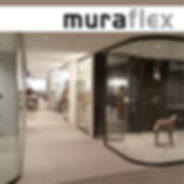 Muraflex demountable walls and glass partitions called MIMO FINO PLANIKA EXPO ARCO and ZITTO