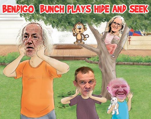 Bendigo Bunch plays hide and seek with community