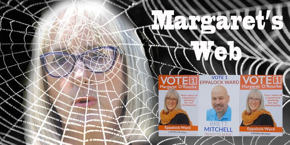 MARGARET'S WEB: NO INDEPENDENCE