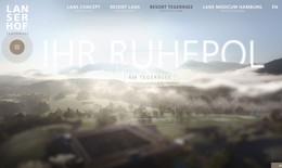 Lanserhof Website ∙ Konzept, Text
