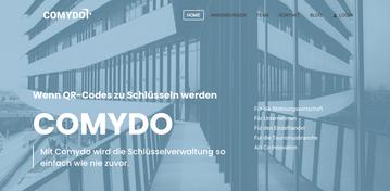 Comydo Website ∙ Konzept, Text