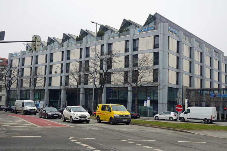Bayerische Landesbank / Wittelsbacher Palais / Gestapo Zentrale - München - schwarzgold.info