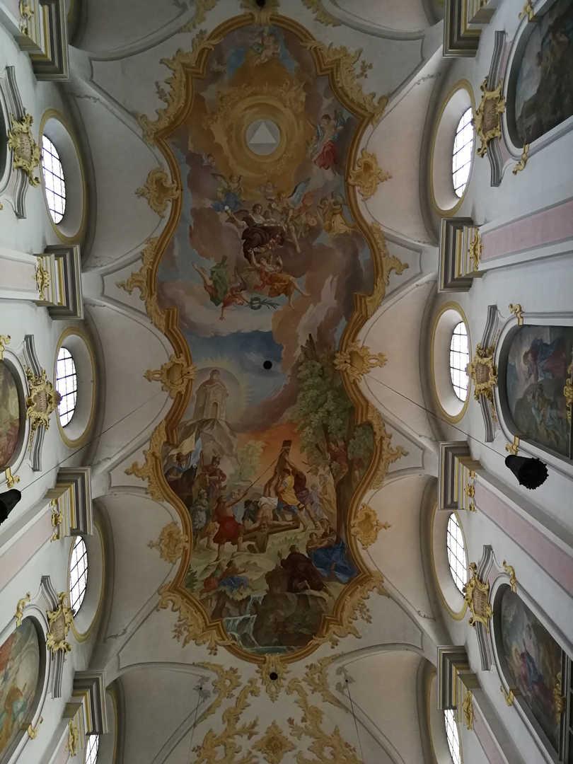 Sankt Peter - Deckenfresko - schwarzgold.info