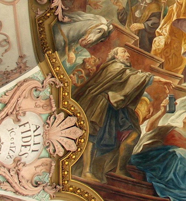 Brezenreiter in der Heilig-Geist-Kirche
