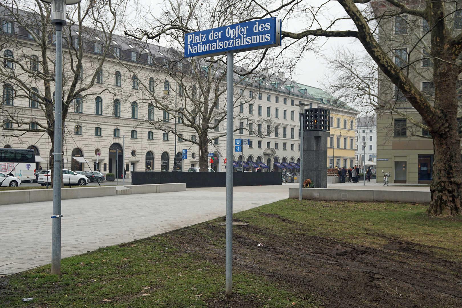 Platz der Opfer des Nationalsozialismus - München - schwarzgold.info