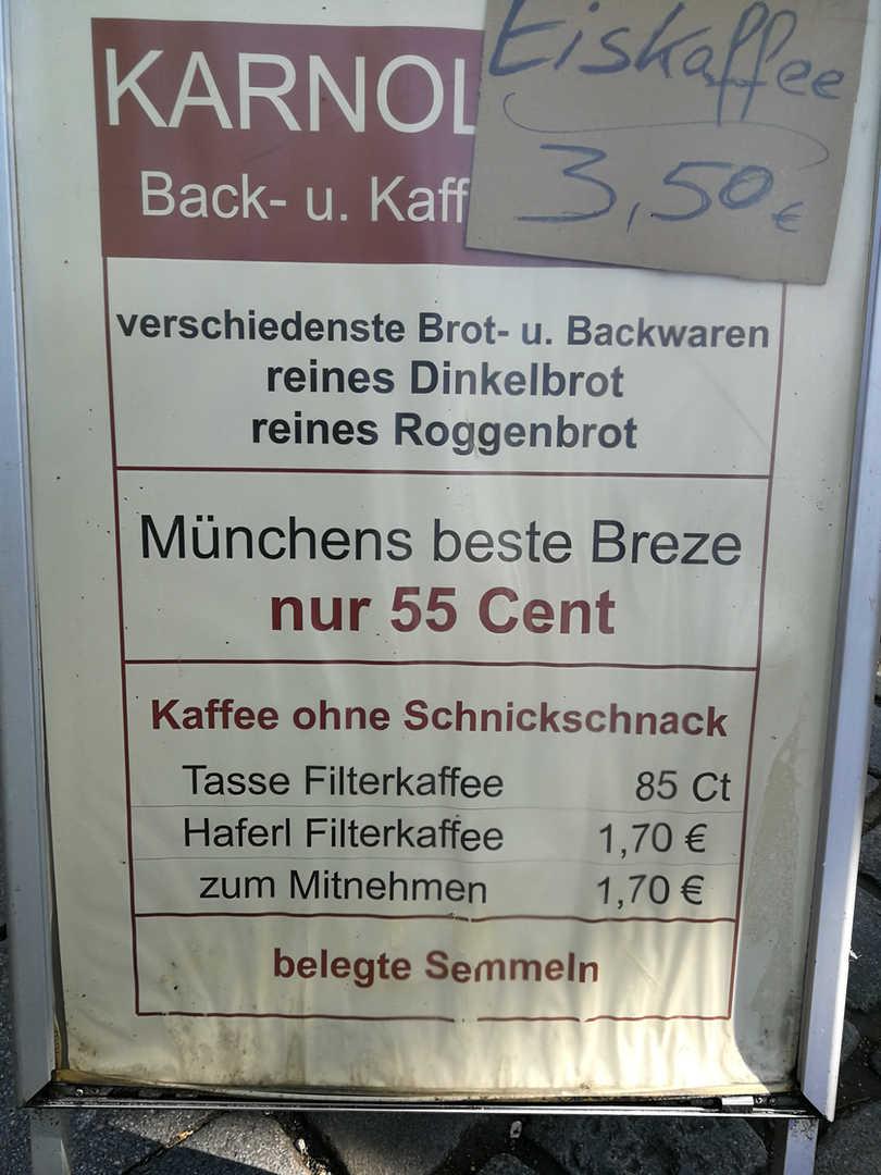 Viktualienmarkt / Karnoll / Preise - schwarzgold.info