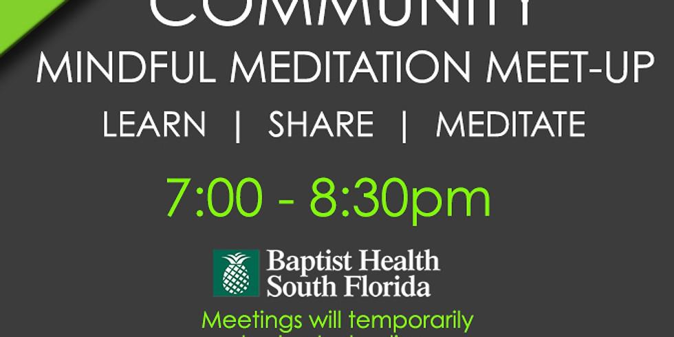 Online Community Mindfulness Meet-Up