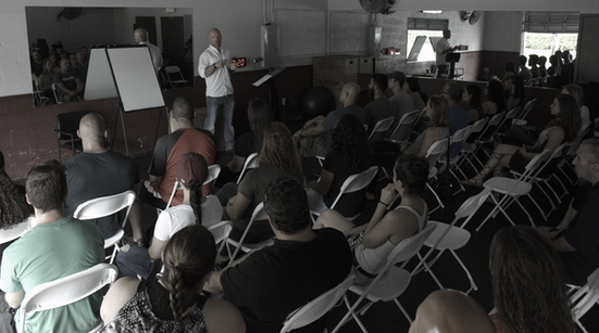 Mindfulness Workshop at Steelhouse Fitness in Kendall,