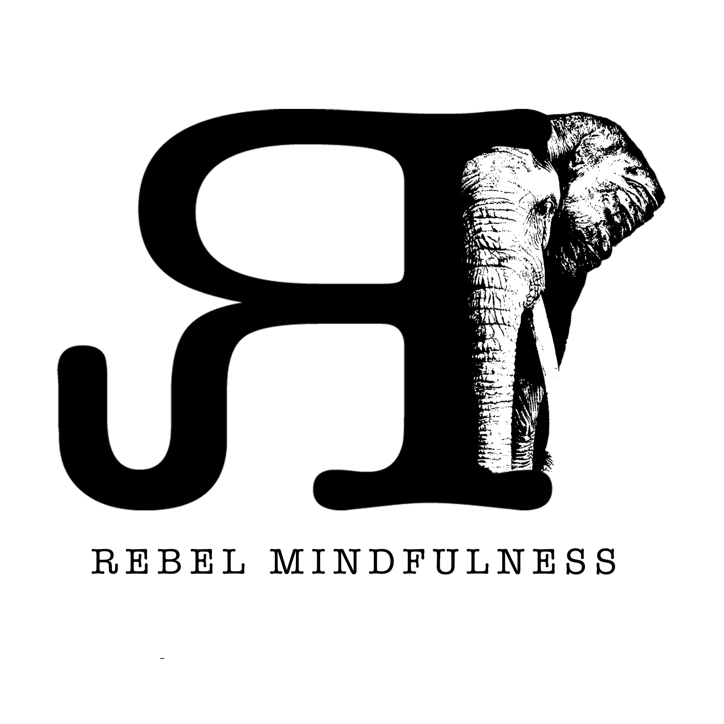 Rebel Mindfulness Elephant Logo