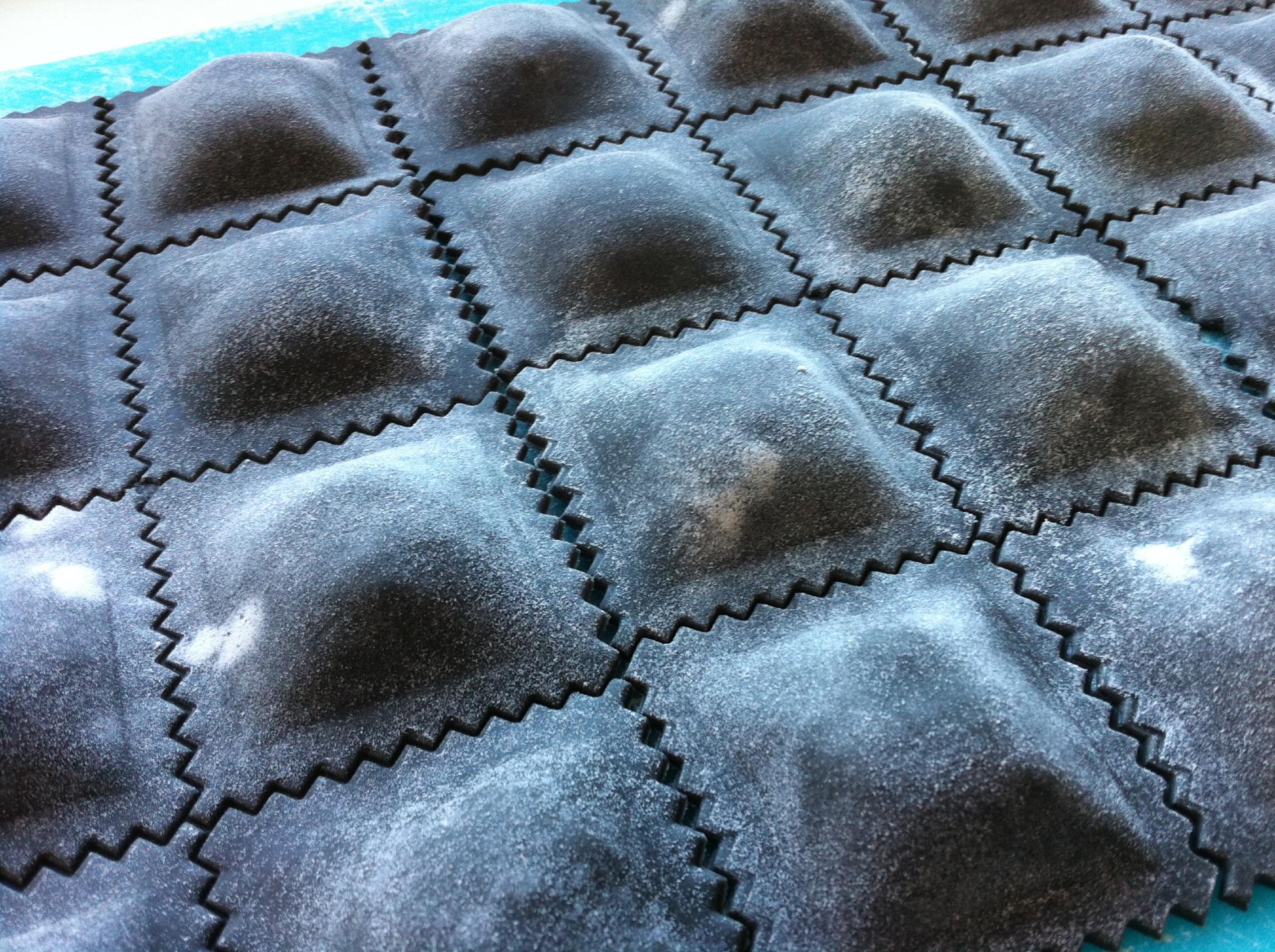Ravioles negros