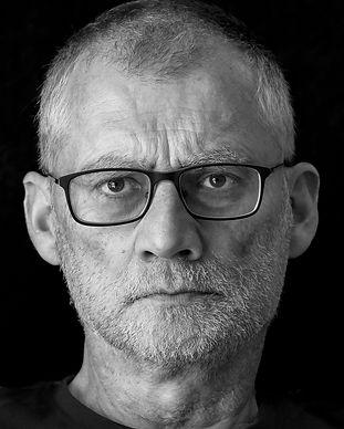 Photography portrait male monochrome dramatic