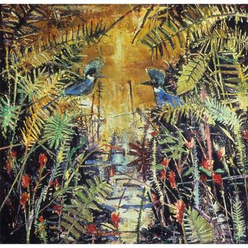 Kingfishers In Love