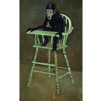 Monkey On A High Chair