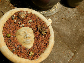 Eskimo Moon Bowl With Cedum & Stones