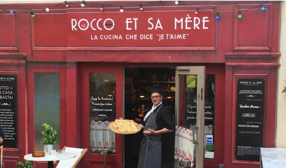 bonne adresse, restaurant italien, Rocco et sa mère