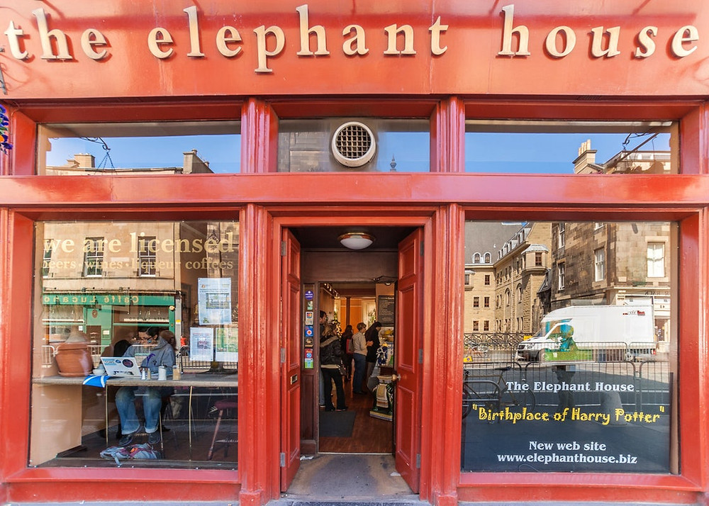 Bonne adresse Harry Potter : the elephant house