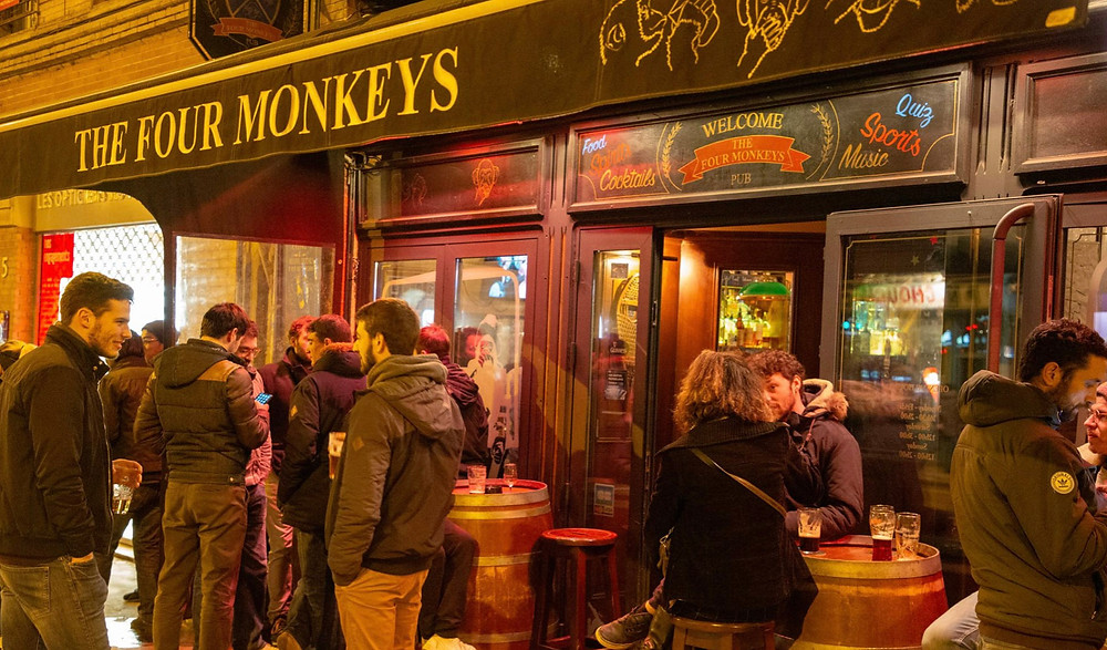 La bonne adresse : The four monkeys