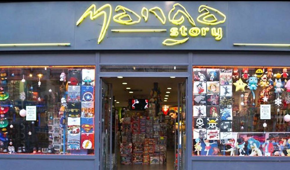 Bonne adresse : Shopping Manga Story Paris