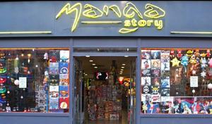 Bonne adresse : Shopping Manga Story Paris