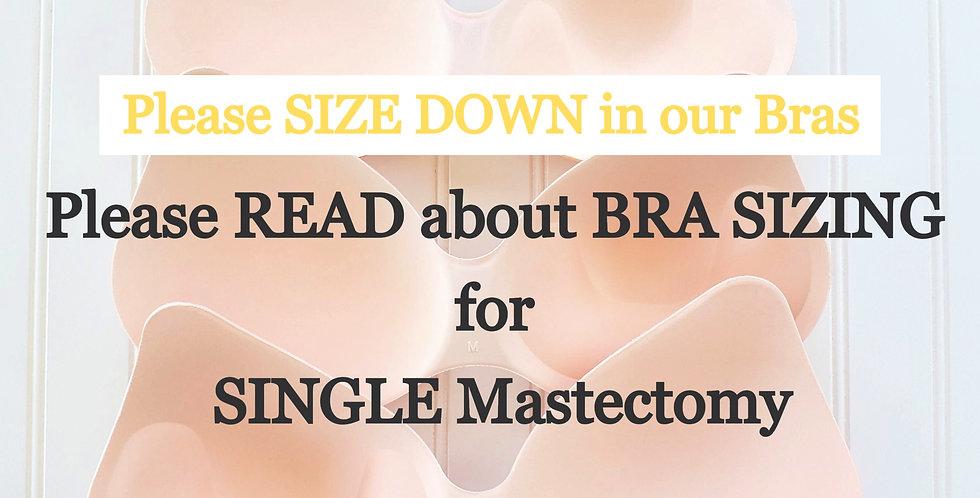 Teardrop Shape SINGLE Mastectomy Breast Forms